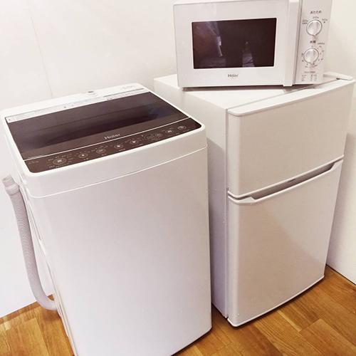 冷蔵庫・洗濯機・電子レンジ3点セット